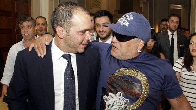 الأمير علي: ارقد بسلام مارادونا