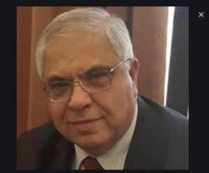 أد انور البطيخي رئيس الجامعه الهاشميه الاسبق في محافظة الزرقاء