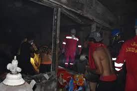 وفاة 27 شخصاً على الأقل في حريق بمستشفى في بغداد