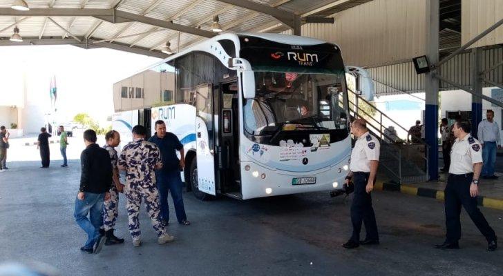 وصول طلائع الحجاج الأردنيين إلى مركز حدود المدورة