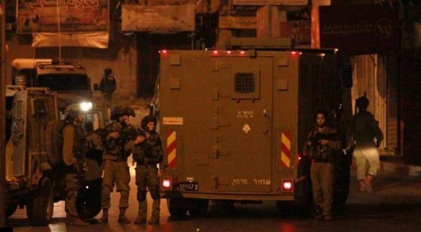 قوات الاحتلال الإسرائيلي تقتحم وسط مدينة رام الله