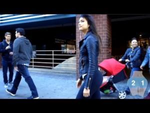 فيديو جديد .. فتاة ترصد المتحرشين بها بكاميرا مخفية
