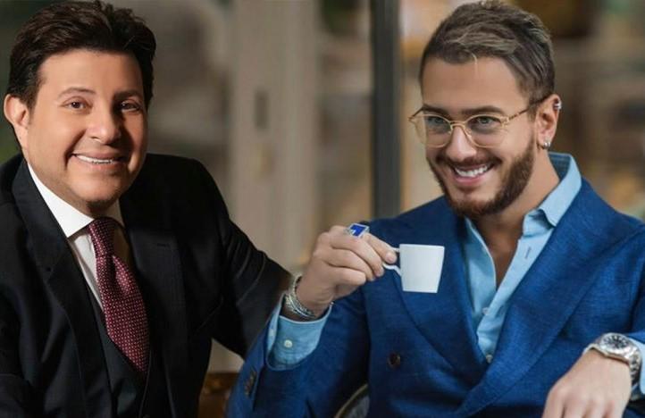 """سعد لمجرد يردّ على هاني شاكر: """"شرف لي"""""""