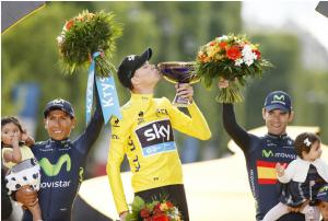 حقائق عن كريس فروم بطل سباق فرنسا للدراجات