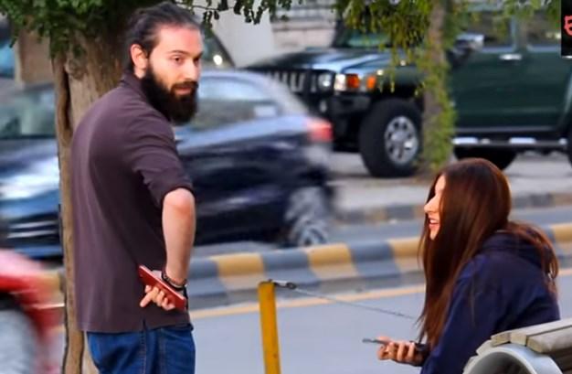 بنت روسية! مقالب في شوارع عمّان