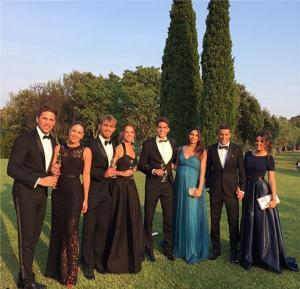 تياجو ألكانتارا يحتفل بزفافه.. صور