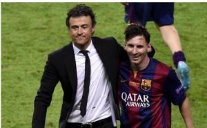 ماذا قال إنريكي عن بقاء ميسي في برشلونة؟