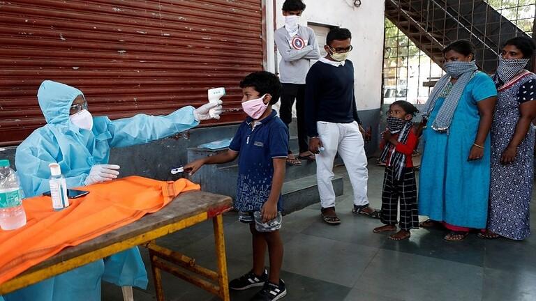 الهند تسجل رقماً قياسياً جديداً في إصابات كورونا اليومية و الحصيلة تتجاوز 170 ألفا