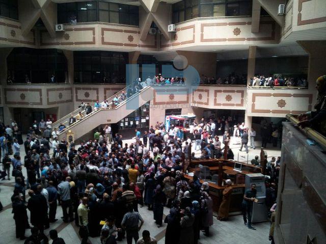 """""""10"""" ملايين دينار خسائر المحاكم بسبب إضراب الموظفين"""