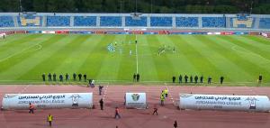 بالفيديو  ..  كلاسيكو الكرة الأردنية  ..  الفيصلي 0 - 2 الوحدات  ..  بث مباشر