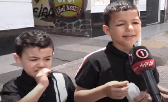 بالفيديو : طفل يوجه رسالة لوالده لم يره لمدة 3 أشهر