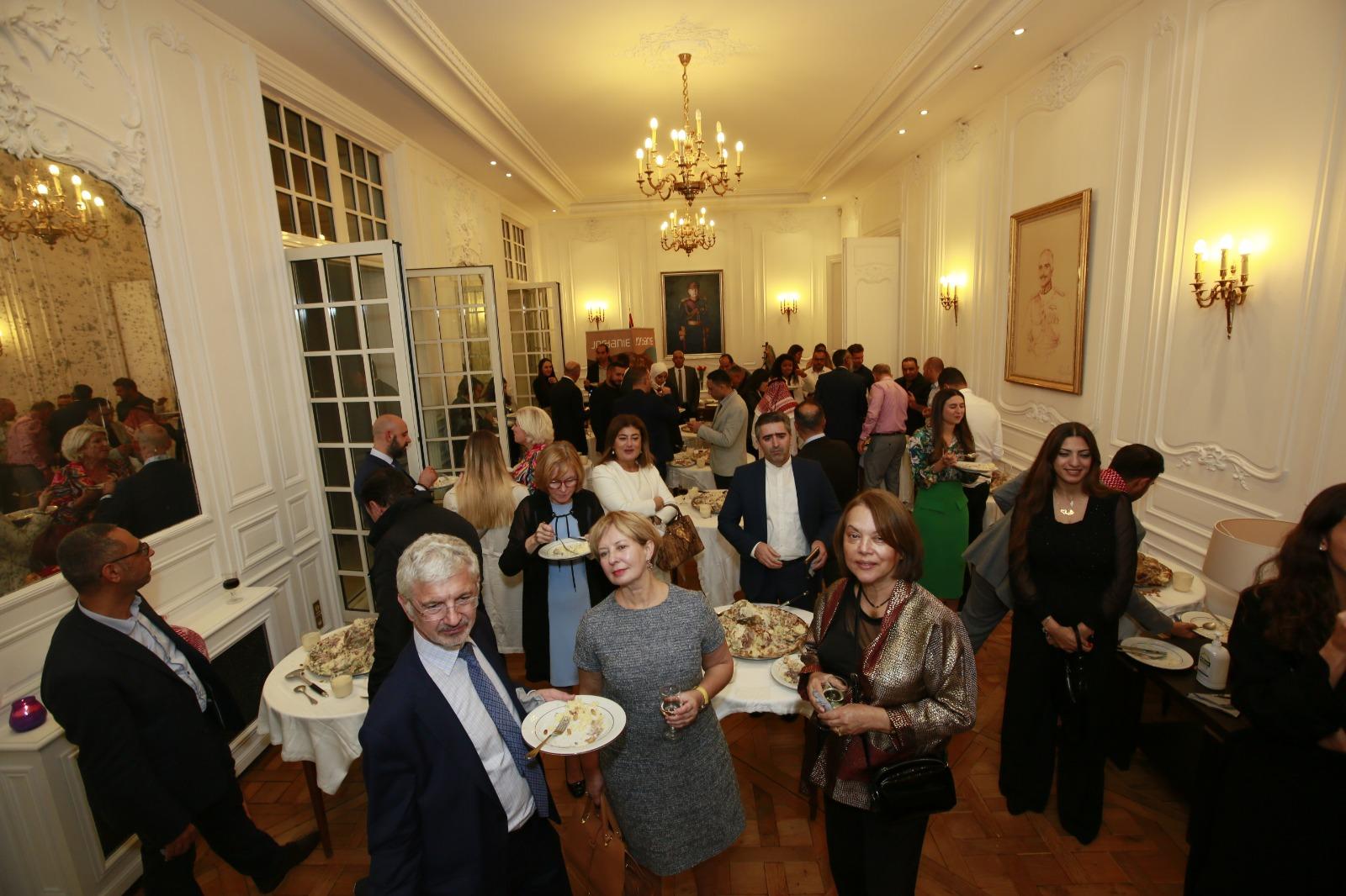 السفارة الاردنية في باريس تنظم احتفالا بمناسبة ادراج السلط على لائحة التراث العالمي