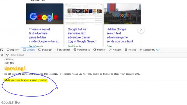 لعبة سرية في غوغل ..  إليك طريقة للعثور عليها
