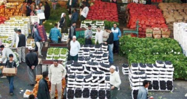400 طن خضار ترد لسوق العارضة المركزي الاحد