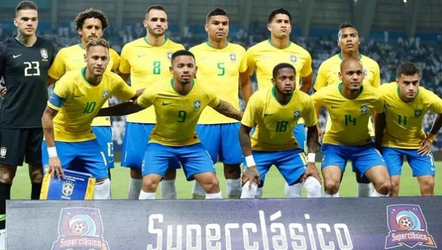الأخضر السعودي يخسر أمام البرازيل بهدفين نظيفين في سوبر كلاسيكو