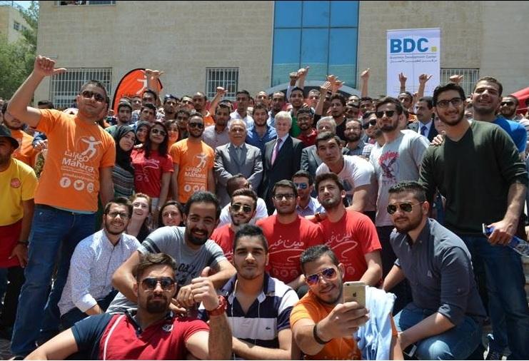 """إطلاق مبادرة """"مين غير"""" في جامعة عمان الأهلية"""