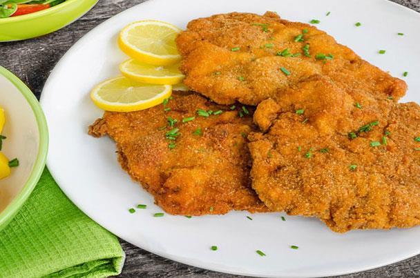 دجاج بانيه بتتبيلة ماء الصودا