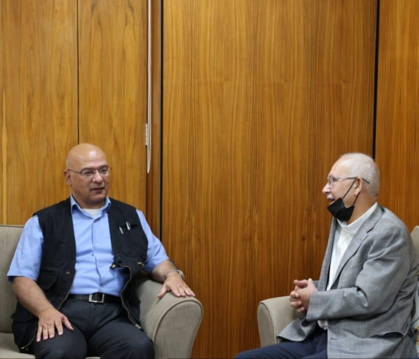وفد نقابة المهندسين الأردنيين يزور مصانع شركة البوتاس العربي