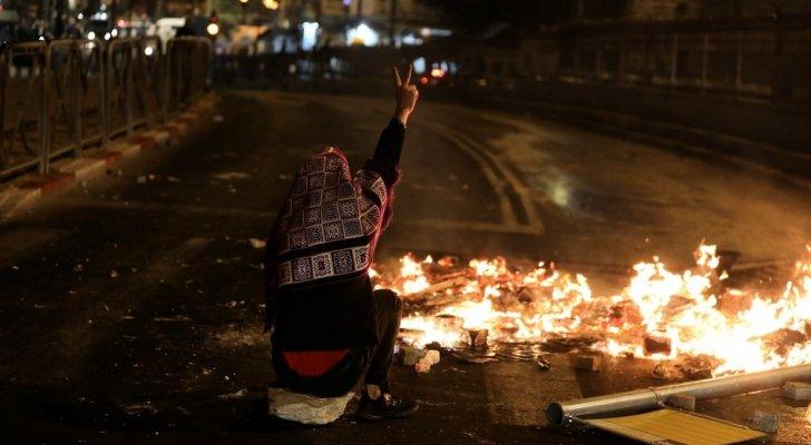 مواجهات بين الفلسطينيين والاحتلال الاسرائيلي في الضفة الغربية