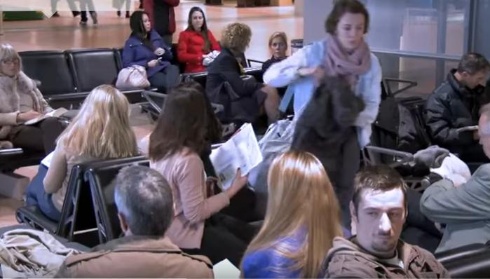 """بالفيديو ..  اقوى كاميرا خفية في مطار المانيا برعاية """"نيفيا"""""""
