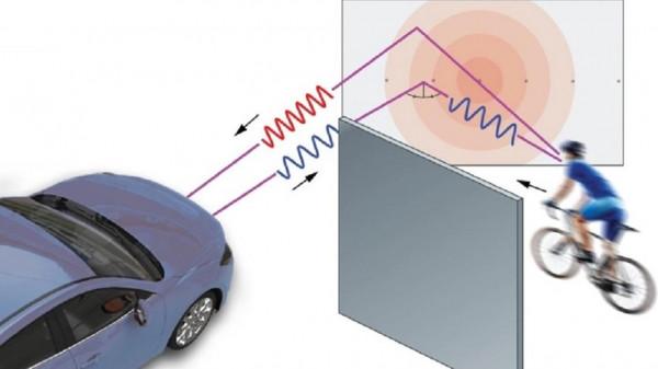ابتكار رادار للسيارات يكشف الأجسام خلف الزاوية