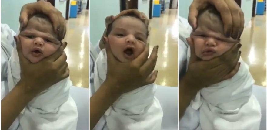 بالفيديو  ..  توقيف ممرضات تلاعبن بطفل رضيع في السعودية