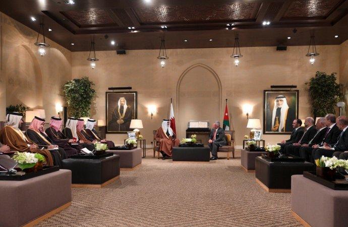 أمير قطر: زيارتي إلى الأردن ستعزز العلاقات الأخوية وتزيد التعاون بين البلدين