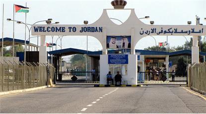 حركة المسافرين والشحن الملك حسين