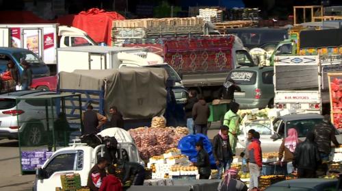 2474 طن خضار وفواكه ترد السوق المركزي