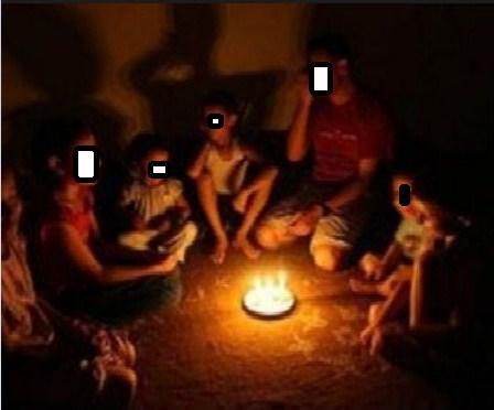 عائلة فقيرة تناشد اهل الخير انقاذهم بعد قطع التيار الكهربائي عن منزلهم