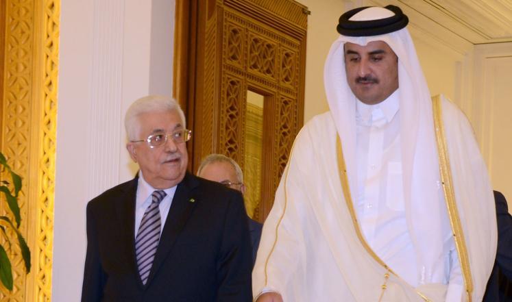 عباس لـ أمير قطر : الاردن طالب بإقصاء حماس وعارض المصالحة ... و لم أعد أثق بالعرب