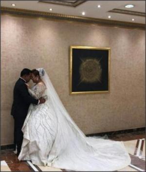 بالصور .. حفل زفاف ويزو وحضور نجوم مسرح مصر
