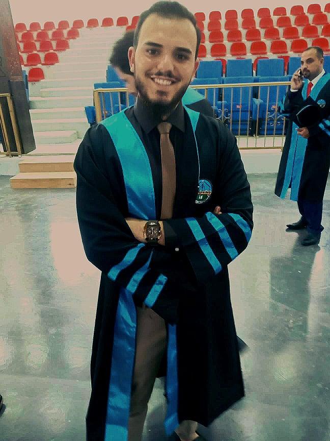 محمد الأحمد  .. مبارك التخرج