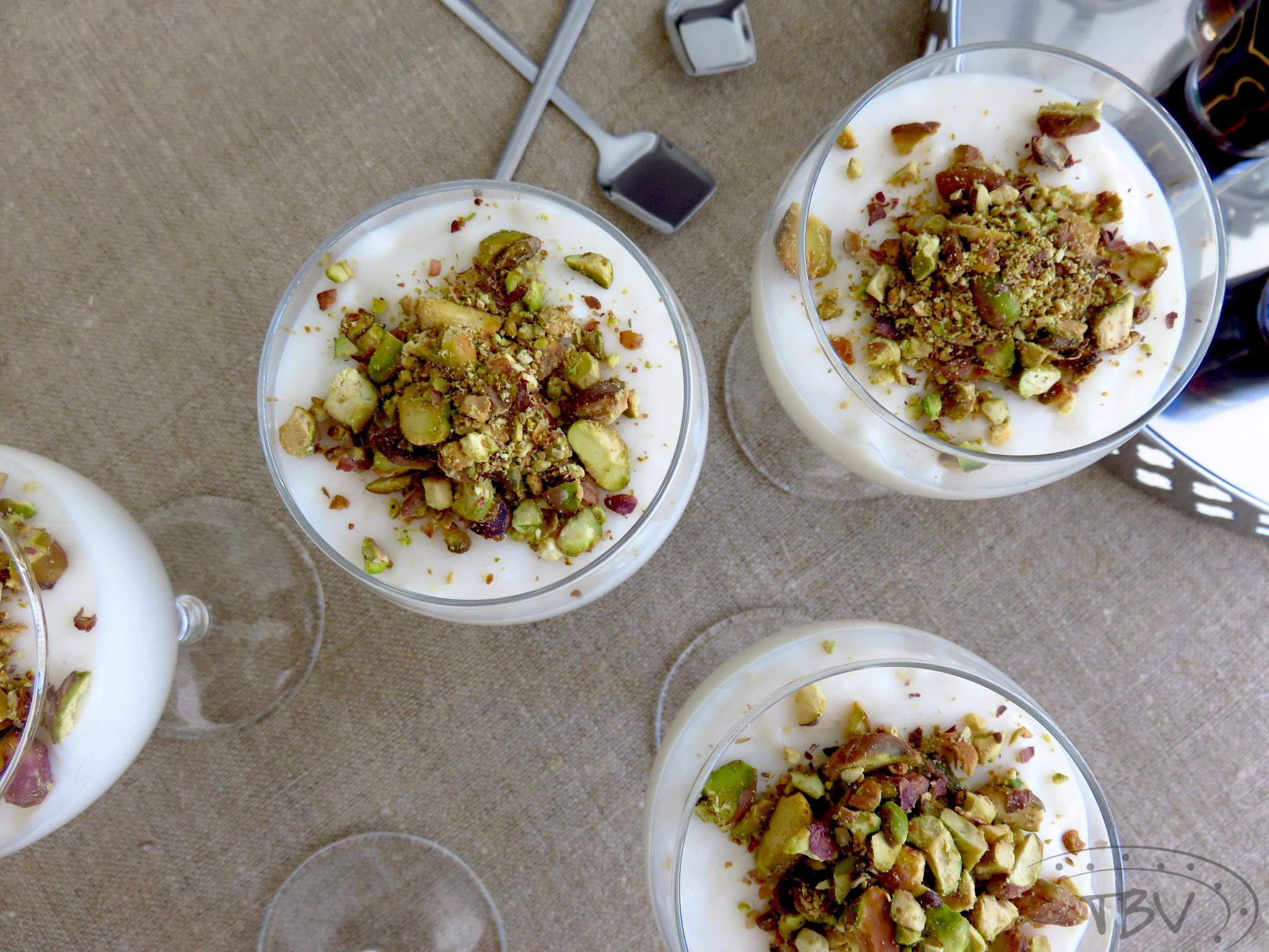حلويات عربية  ..  مهلبيّة قليلة الدسم