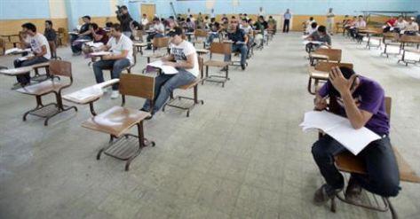 اعتماد جدول امتحانات التوجيهي و10 دقائق زيادة للجلسات