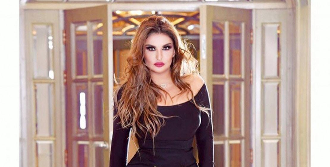 بالفيديو  .. جرأة فستان شذى حسون تسرق الأضواء في يوم ميلادها