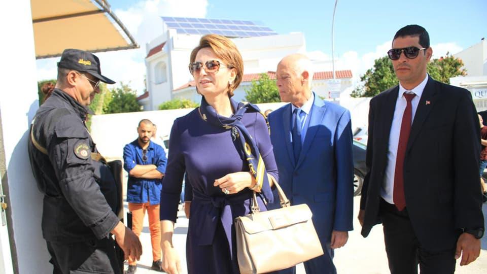 بالصور  .. تعرف على سيدة تونس الاولى