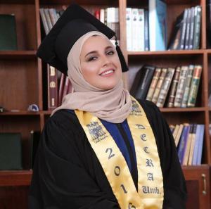 أليس ابو دية .. مبارك التخرج