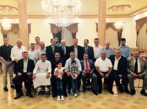 الدكتور عبد الرحيم المراشده يقيم مأدبه أفطار - صور