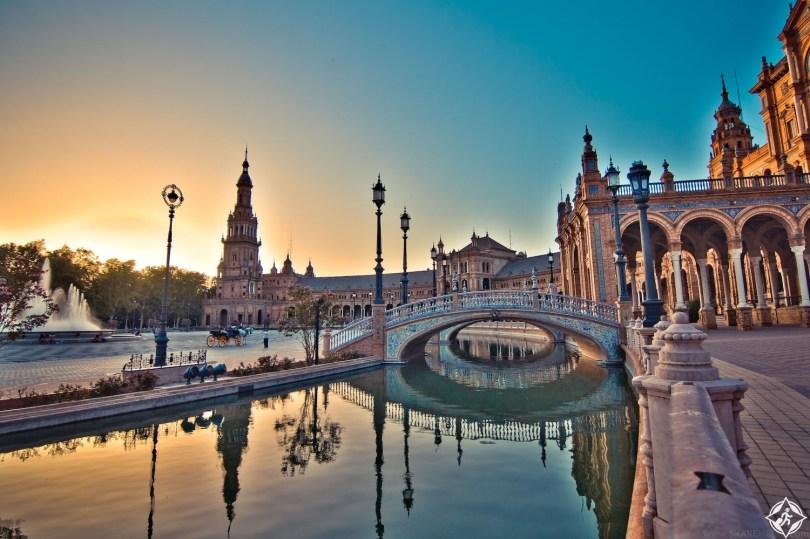 بالصور .. مدينة إشبيلية الإسبانية