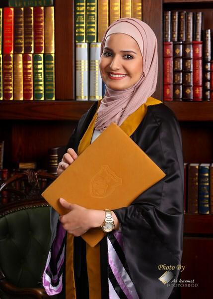 الدكتورة آية العياط ..  مبارك التخرج