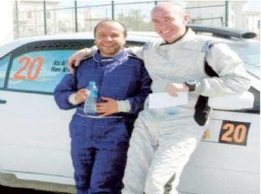 البسط ورشيد والحمود يشاركون في رالي قطر