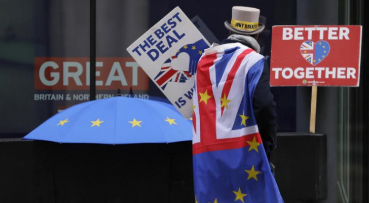 تراجع قياسي للتجارة الخارجية البريطانية مع الاتحاد الاوروبي
