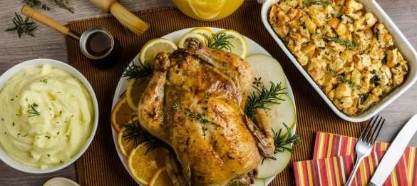 طبخ دجاج محشي