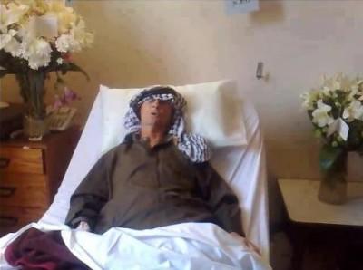 أبو عرب ينفي نبأ وفاته