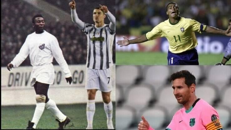 قائمة أفضل 5 هدافين في تاريخ كرة القدم ..  لاعب واحد يهدد عرش رونالدو