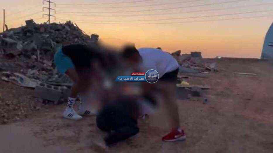 السعودية ..  القبض على 4 أشخاص أشعلوا النار في رجل لتصوير مقطع فيديو