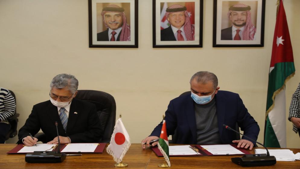 منحة يابانية بـ 22.9 مليون دولار لتأهيل منظومة محطة مياه زي