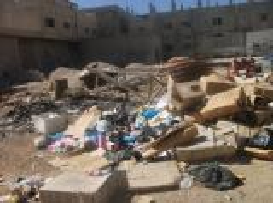 اهالي بلدة مؤتة يشكون من تكدس النفايات في شوارع بلدتهم