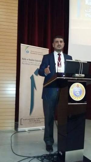 اليرموك تشارك في فعاليات مؤتمر دولي في جامعه أوردو التركية